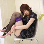 フェチ心煽る美脚の網タイツ女の子がエロい美脚を見せてくれる画像の素晴らしさを実感するスレ[47枚]