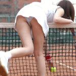 ギャルがテニスウェアでエッチになってる画像がたまらんエロさ[24枚]
