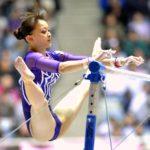 色っぽい体操選手がマンスジ見えてる画像がアツい![18枚]